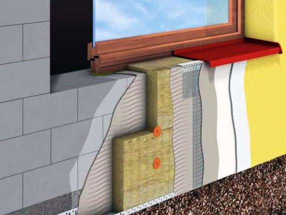 Утепление фасада в частном доме своими руками
